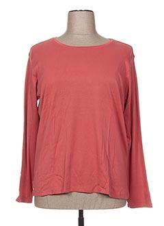 T-shirt manches longues orange CAPSULE pour femme