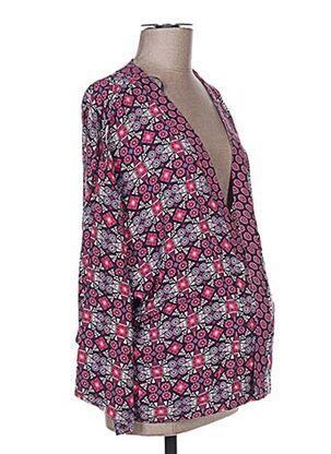 Veste casual rose COLLINE pour femme