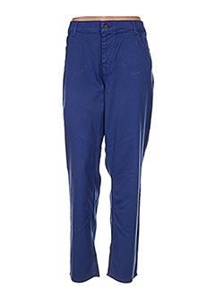 Jeans coupe droite bleu OLIVER JUNG pour femme