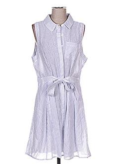 Robe mi-longue bleu F &  P pour femme