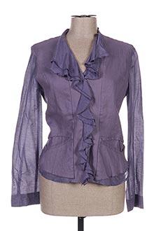 Veste casual violet ECRU pour femme