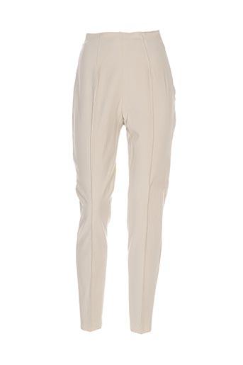 Pantalon chic beige CARLO COLUCCI pour femme