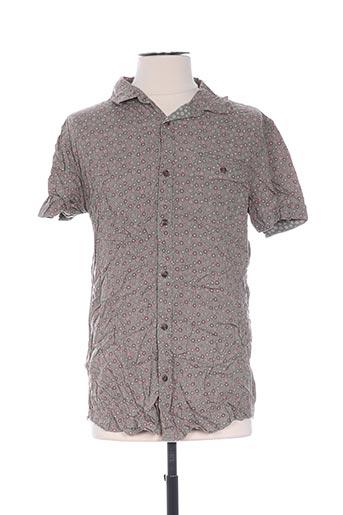 Chemise manches courtes vert KILIWATCH pour homme
