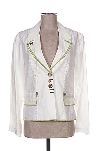 Veste chic / Blazer blanc BATISTE pour femme