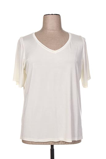 T-shirt manches courtes blanc ALAIN WEIZ pour femme