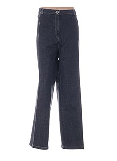 Jeans coupe droite noir ATIAN pour femme