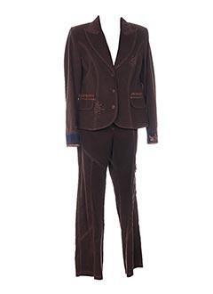 Veste/pantalon marron FUEGOLITA pour femme