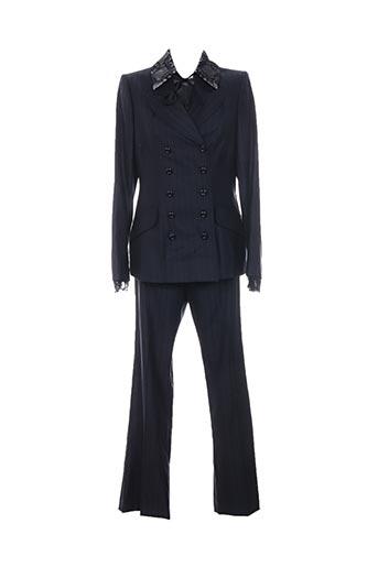 Veste/pantalon bleu INFINITIF pour femme