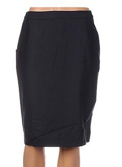 Jupe mi-longue bleu GANT pour femme