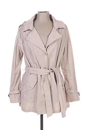 Imperméable/Trench beige INTERNATIONALE pour femme