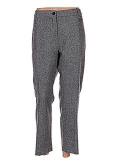 Pantalon casual gris DIANE LAURY pour femme