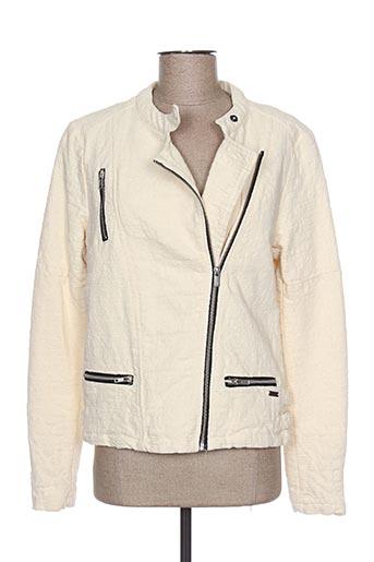 Veste casual beige MAISON SCOTCH pour femme