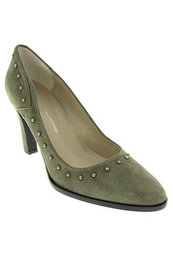 brenda zaro chaussures femme de couleur vert