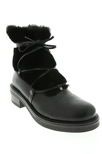 vanilla moon chaussures femme de couleur noir