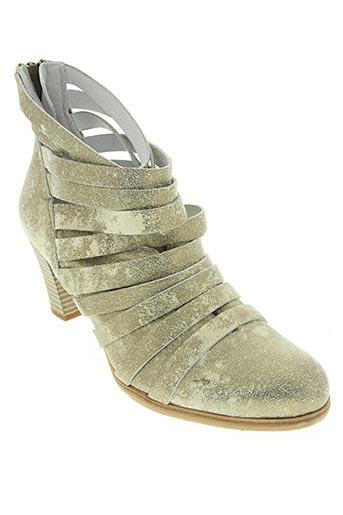 felmini chaussures femme de couleur jaune