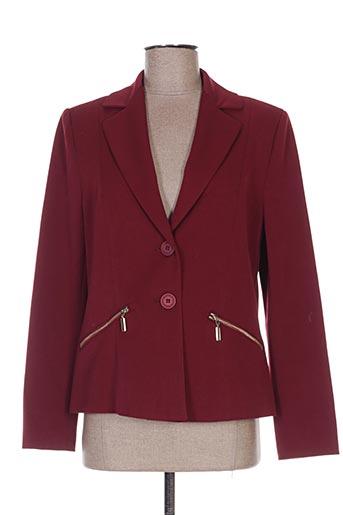 Veste chic / Blazer rouge WEINBERG pour femme
