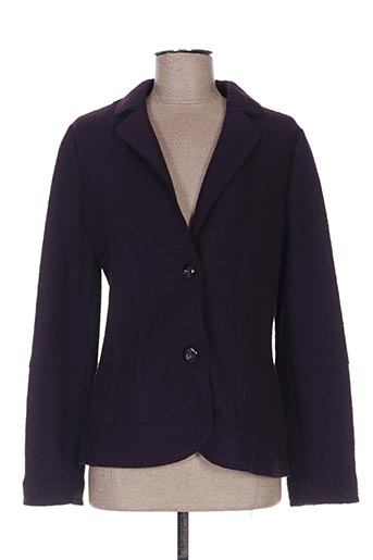 Veste chic / Blazer violet WEINBERG pour femme