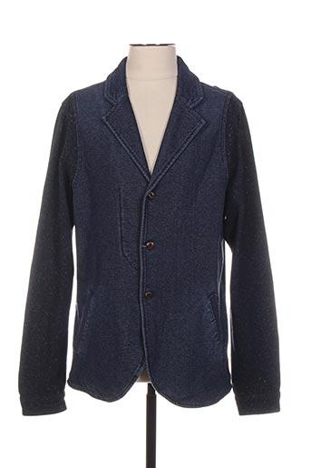Veste casual bleu SCOTCH & SODA pour homme