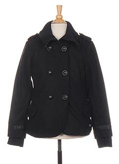 Veste casual noir TEDDY SMITH pour fille