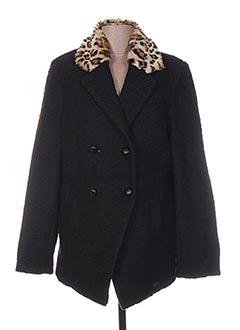 Veste casual noir GERTRUDE pour femme