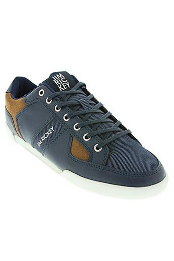 jim rickey chaussures homme de couleur bleu