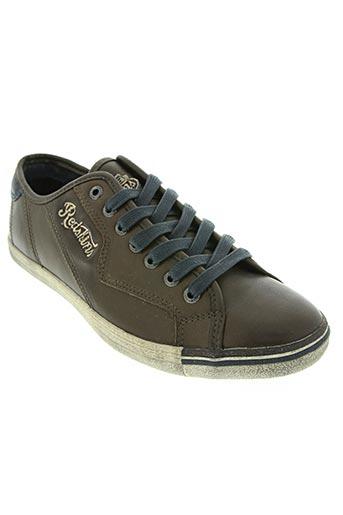 redskins chaussures unisexe de couleur marron