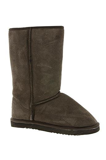 good sheep chaussures femme de couleur marron