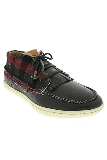 dolfie chaussures homme de couleur noir