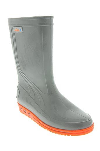 meduse chaussures fille de couleur gris
