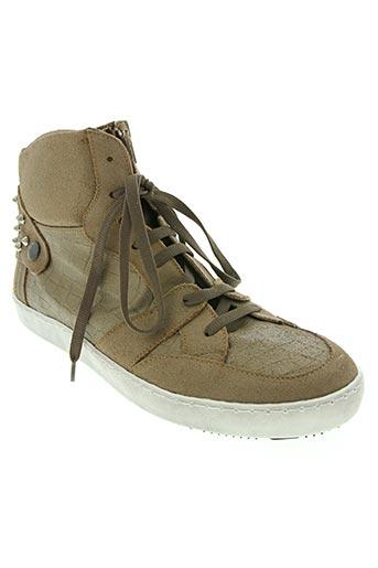 ni max chaussures femme de couleur beige