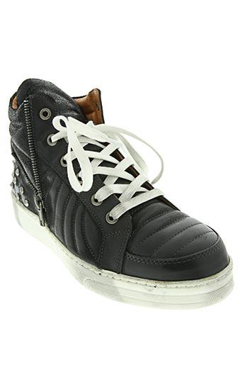 viu sneakers chaussures femme de couleur noir