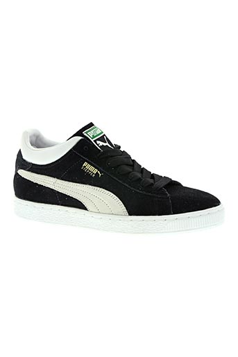 puma chaussures homme de couleur noir