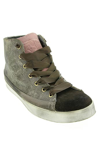 beverly hills polo club chaussures femme de couleur marron