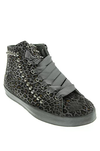 u.s. polo assn chaussures femme de couleur gris