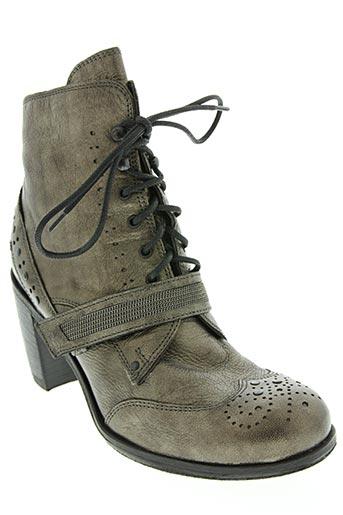 oxs chaussures femme de couleur gris