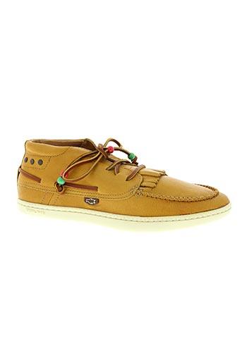 dolfie chaussures homme de couleur jaune