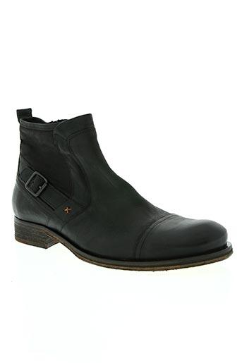 exceed chaussures homme de couleur noir