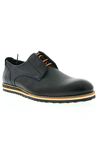 exceed chaussures homme de couleur bleu