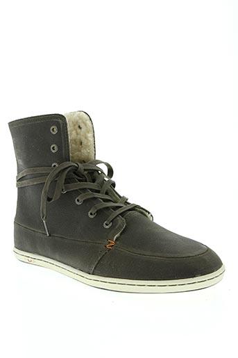hub chaussures homme de couleur gris