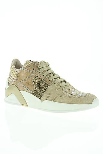 serafini chaussures femme de couleur beige