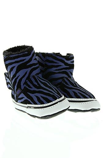 vans chaussures fille de couleur bleu