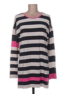 T-shirt manches longues rose LITTLE MARCEL pour femme