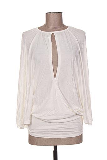 T-shirt manches longues beige CHILLI COUTURE pour femme