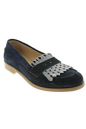 triver flight chaussures femme de couleur bleu