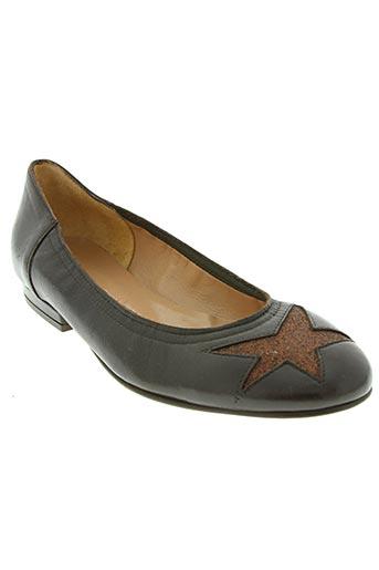 cristina millotti chaussures femme de couleur marron