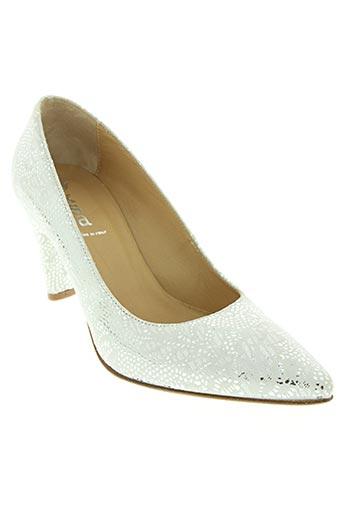 xsa chaussures femme de couleur blanc