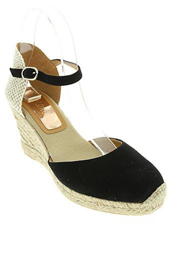 conchisa chaussures femme de couleur noir