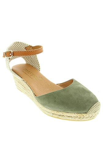 maypol chaussures femme de couleur vert