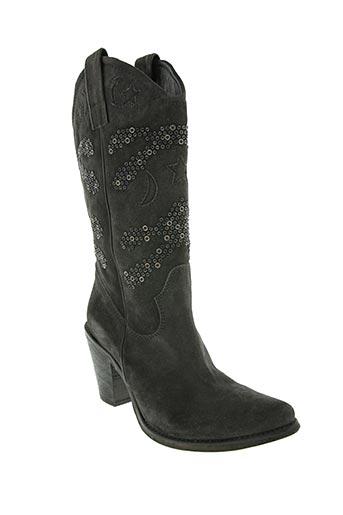 Bottines/Boots gris FRUIT pour femme