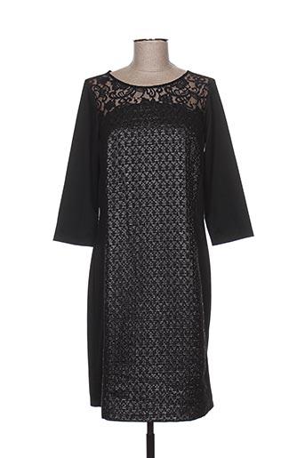 Robe mi-longue noir DIANE LAURY pour femme